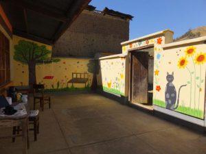 Malerwerk im Kinder